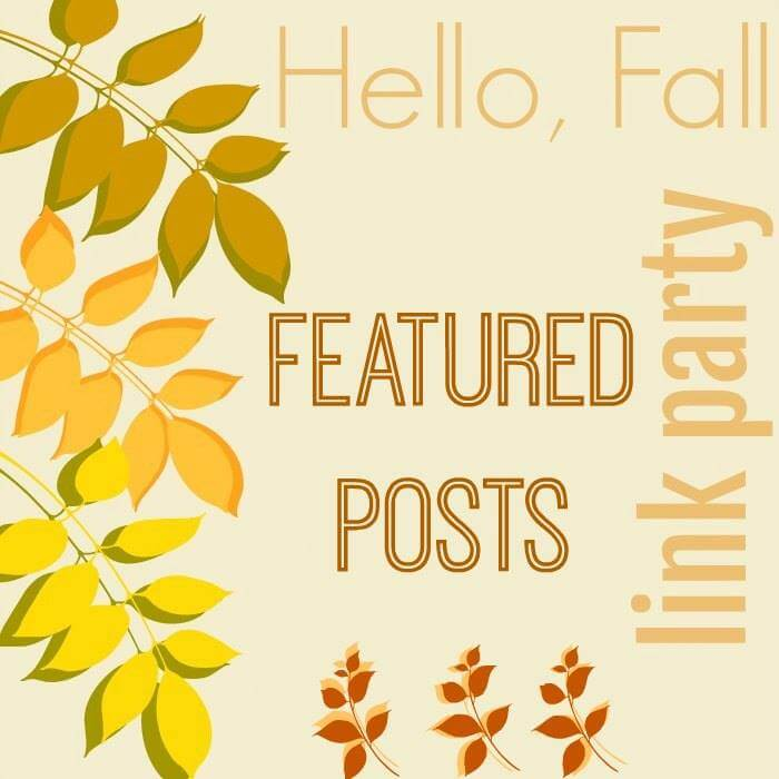 Hello Fall Link Party Featured Posts at Kristin's Peppermints and Cherries