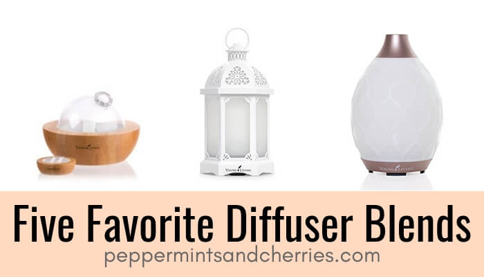 Five Favorite Diffuser Blends for Essential Oils