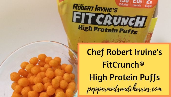 Review of Chef Robert Irvine's FitCrunch® Cheddar Cheese High Protein Puffs