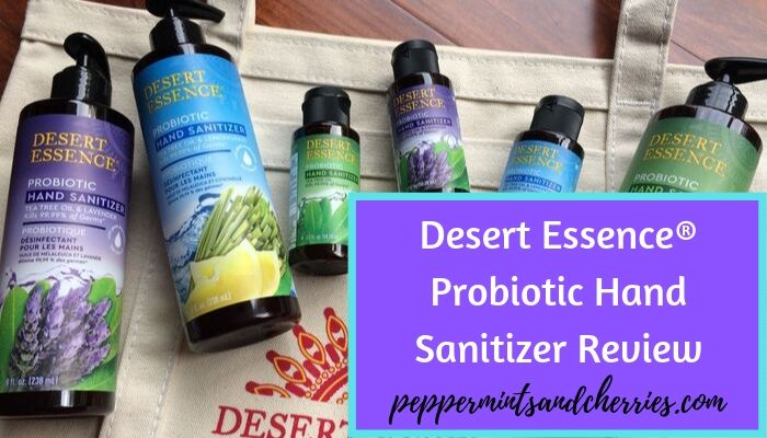 Desert Essence Probiotic Hand Sanitizer Review