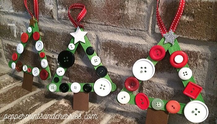 DIY Easy Christmas Tree Ornament Craft for Kids | Crafting ...