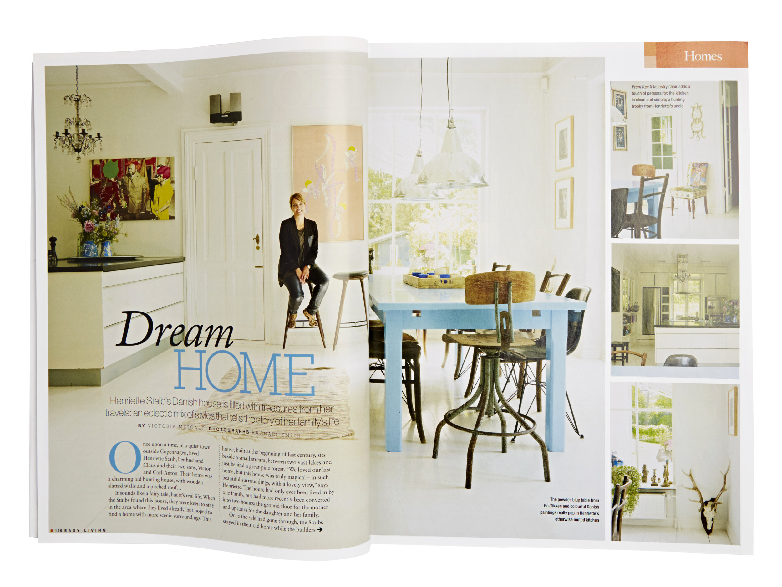 Easy Living  Feature and Styling by Victoria Tunstall  Photography by Rachael Smith