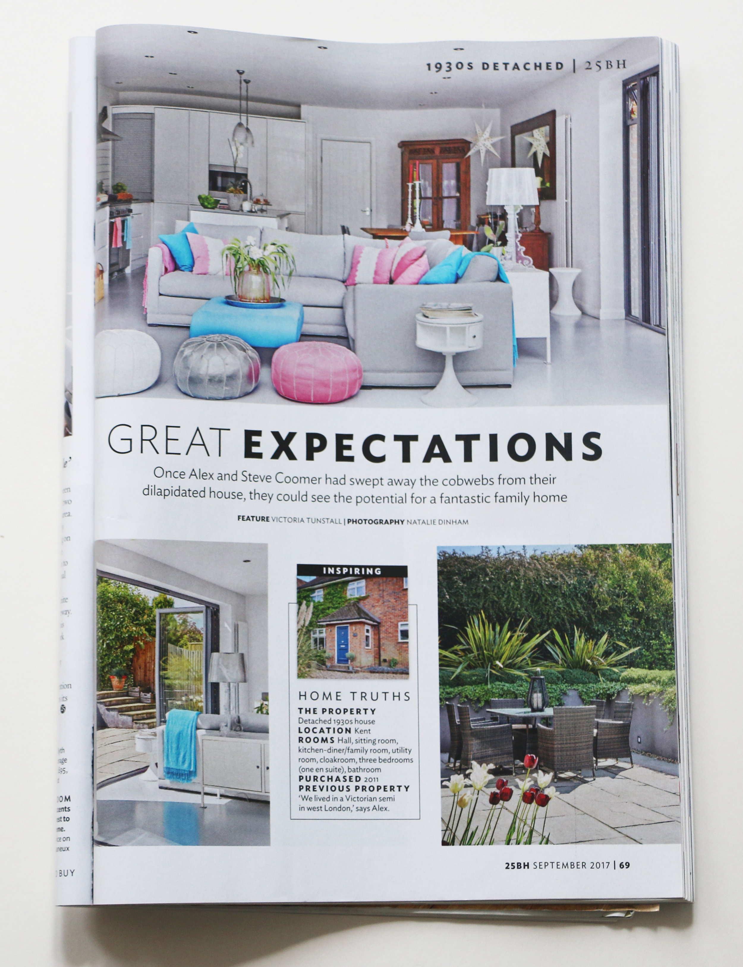 25 Beautiful Homes  Feature and Styling by Victoria Tunstall  Photography by Natalie Dinham