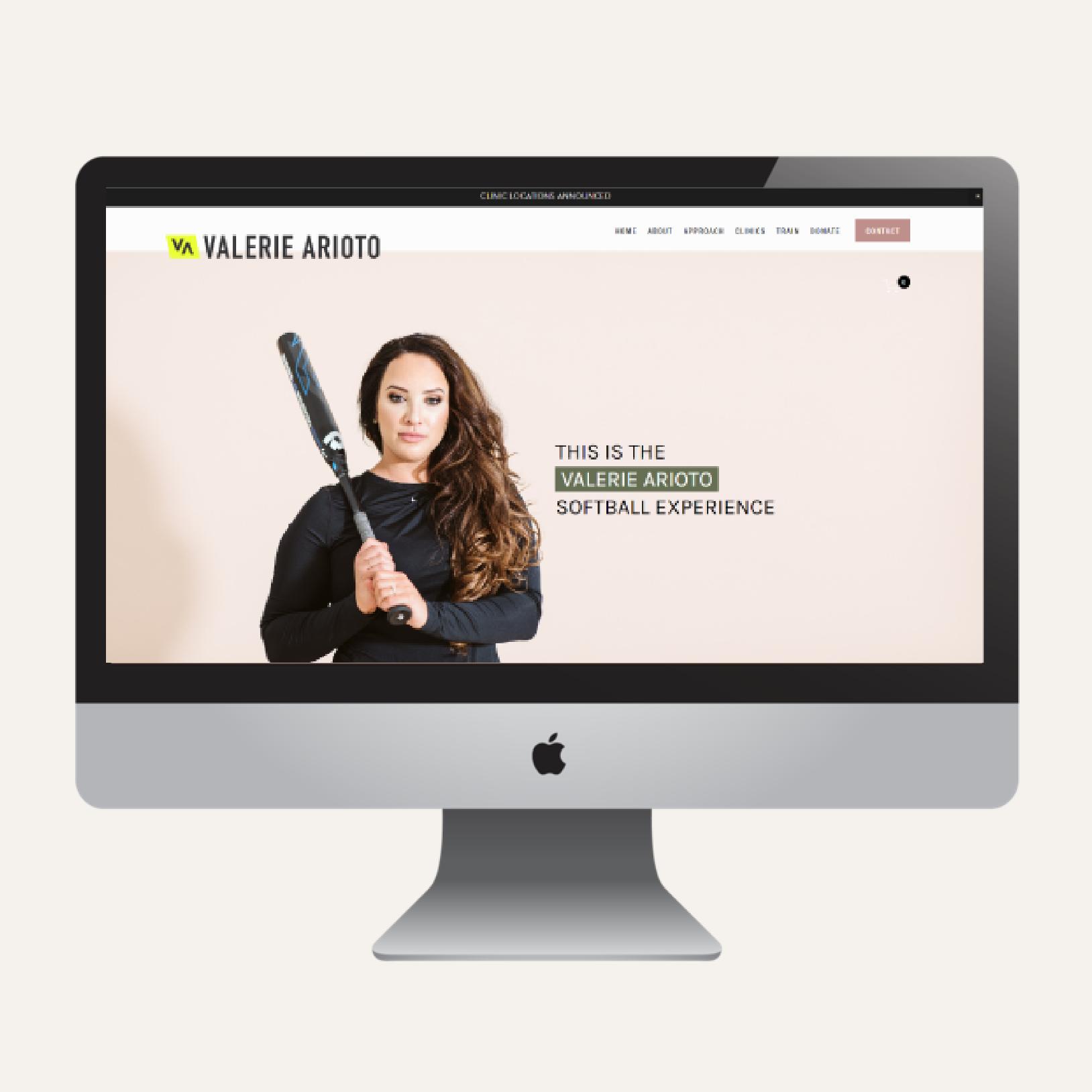Valerie Arioto  Website Writing