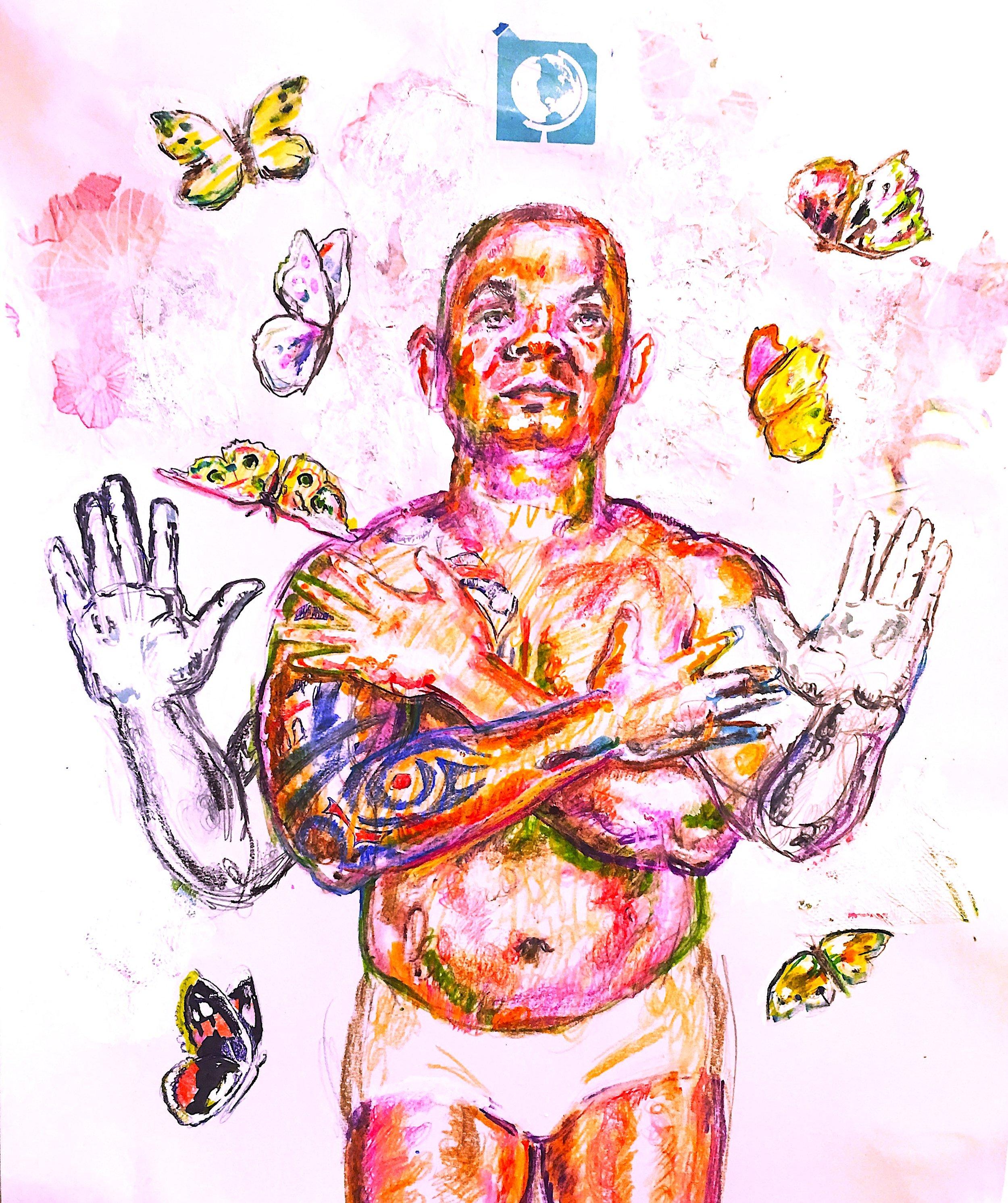 """Vishnu:(An Allegory of Wealth)"", 2016"