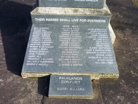 THEIR NAMES SHALL LIVE FOR EVERMORE 1939 - 1945