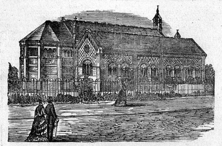 St Anne's Church, Chasetown – Circa 1872