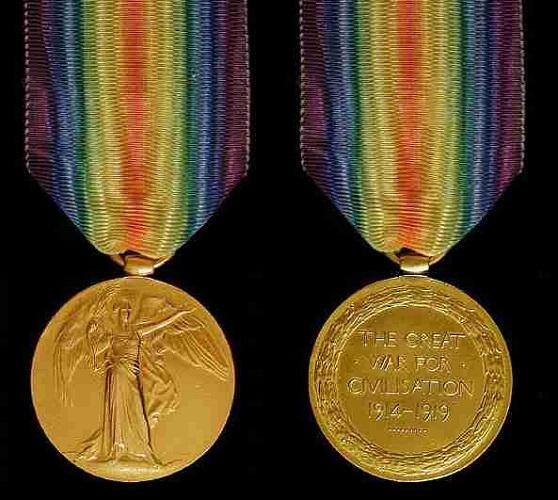 WW1 VICTORY MEDAL
