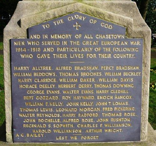 Chasetown War Memorial