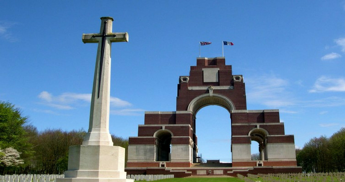 Photograph of the Thiepval Memorial © CWGC
