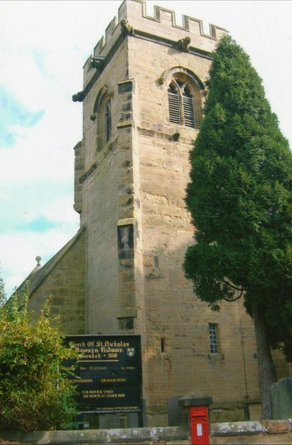 Mavesyn Ridware Church
