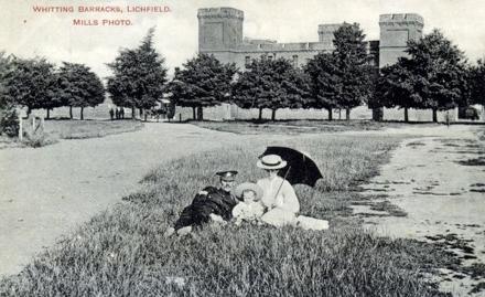 Whittington Barracks about 1900-1910