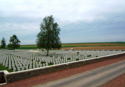 A.I.F Burial Ground, Flers