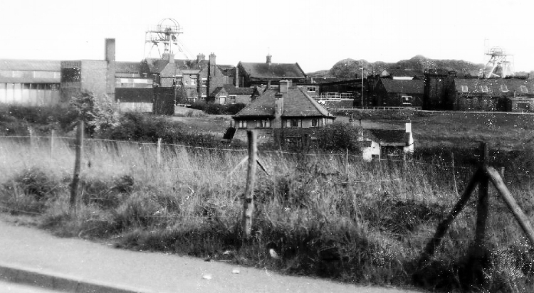 """Fair Lady"" Coppice Colliery, Heath Hayes, taken from the Cannock Road"