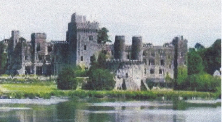 Ashford Castle near Cong. Former home of the Guinness family, now a hotel