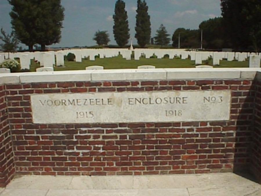 Photograph of Voormezeele Cemetery