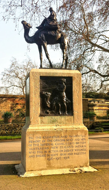 Imperial Camel Corps Memorial, London