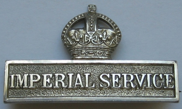 Photograph of the Imperial Service Brooch