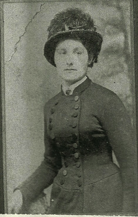 Sarah Alice Barker, born about 1863 in West Bromwich