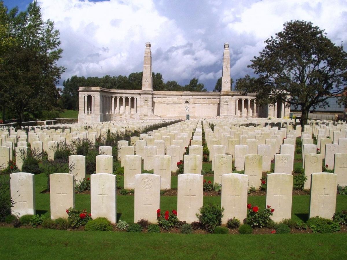 Vis-en-Artois Memorial, Vis-en-Artois British Cemetery, Haucourt, Pas de Calais, France