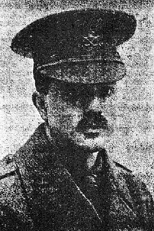 Lieutenant Reginald Berry, 2nd Batallion South Staffs