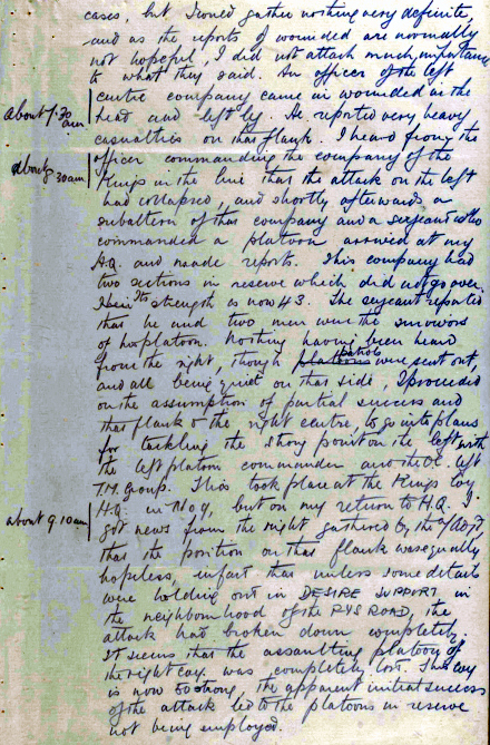 Report of attack 17 February 1917 Page 2.jpg