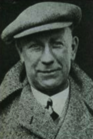Photograph of Major Frank Buckley taken during his football managerial career