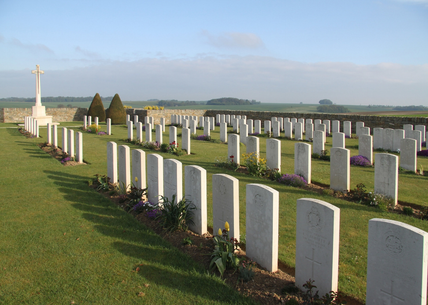 Suzanne Military Cemetery Number 3, Suzanne, Somme, Picary, France