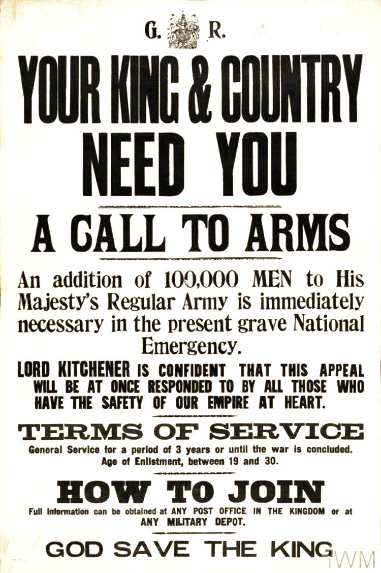 Call to Arms poster