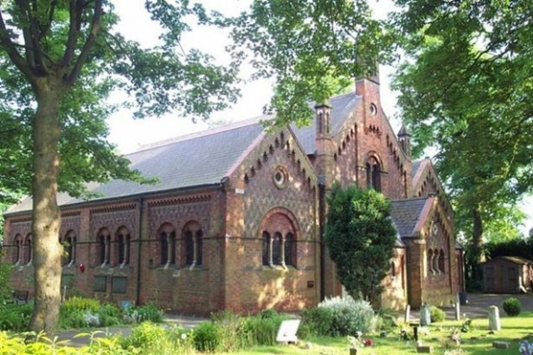 Photograph of St. Anne's Church, Chasetown