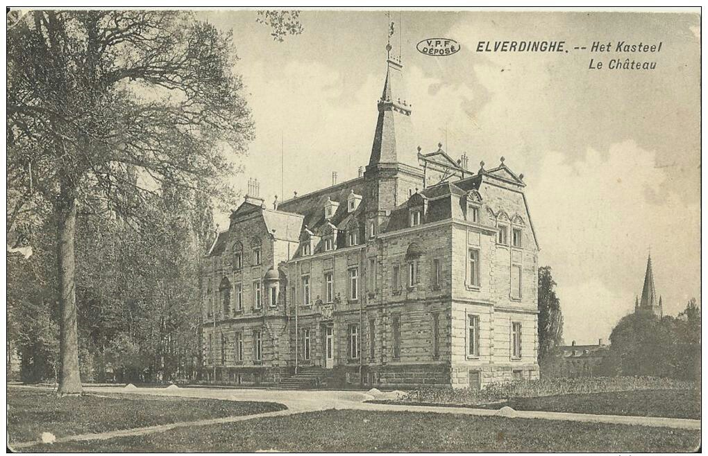 Elverdinghe Chateau prior to the Great War