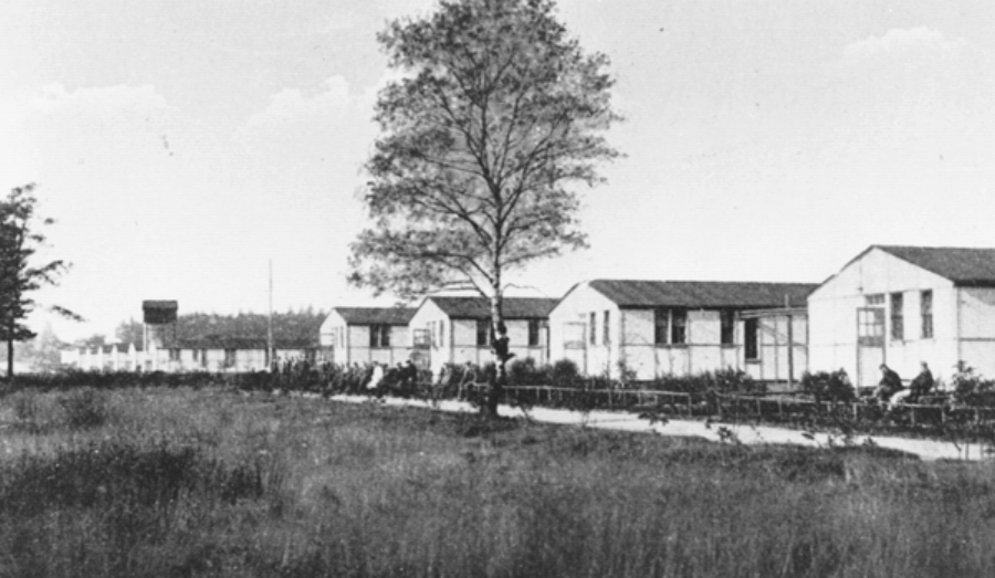 The hospital serving Brocton and Rugeley camps that was established at Brindley Heath in 1916