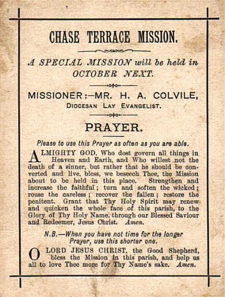 Mission Prayer