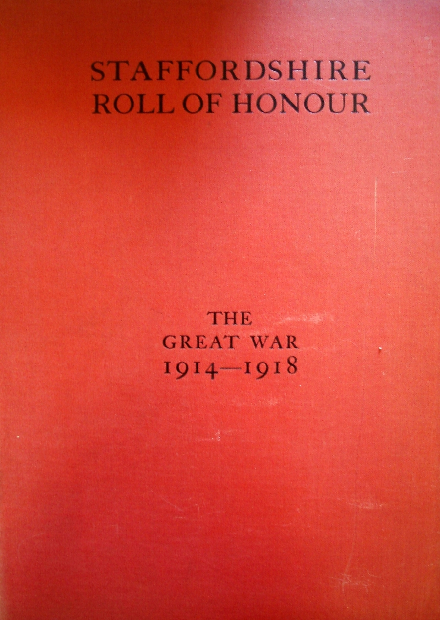 Staffordshire Roll of Honour