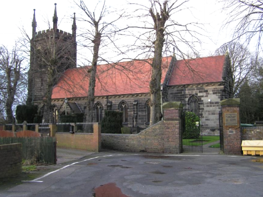 The Church of St James the Great - Norton Canes