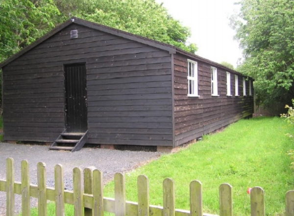 Replica Training Camp Hut on Cannock Chase