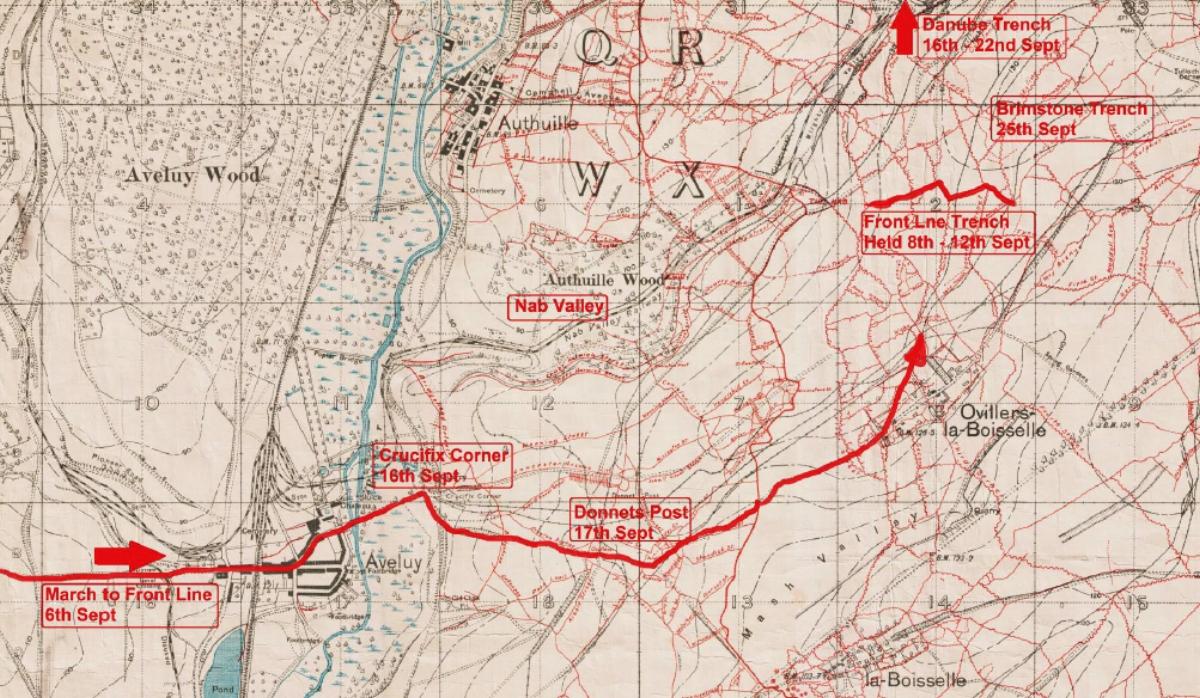 Ovillers = September 1916