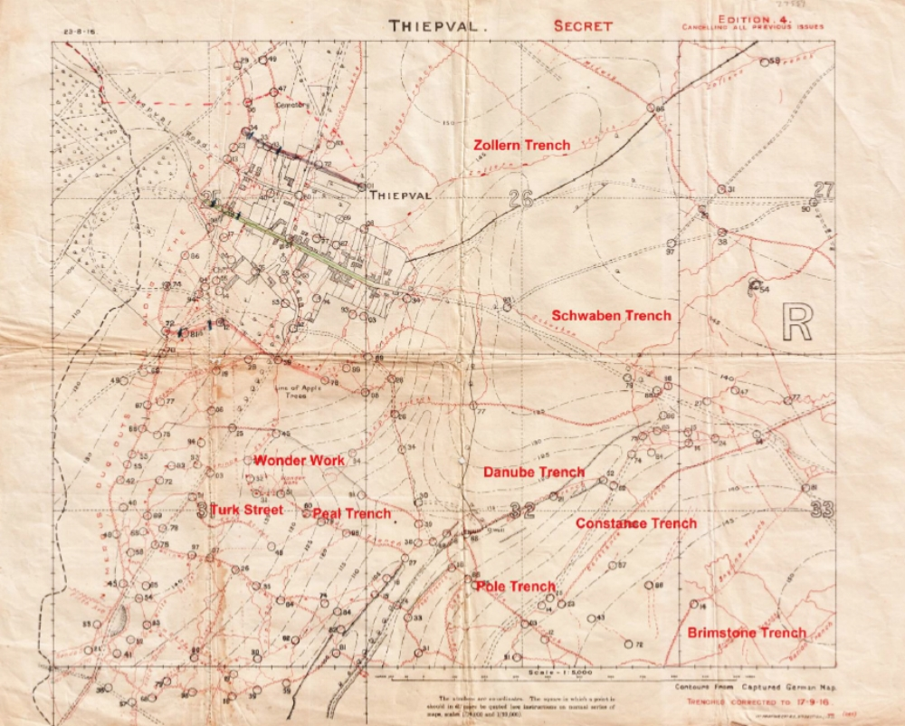 Thiepval - September 1916