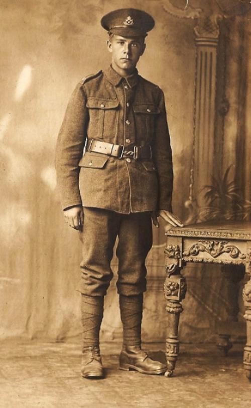 Photograph of Private William Daker