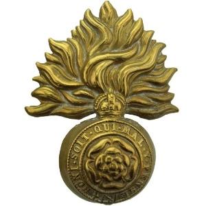 Royal London Fusiliers WW1 Cap Badge