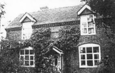 The Elizabeth Ball Charity School on the corner of Church Road and Coulter Lane