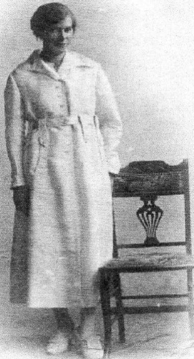 Frederick Plant's wife Elsie Adams.