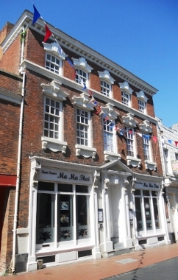 The grade II listed building in Bird Street where the Lichfield Mercury was printed.