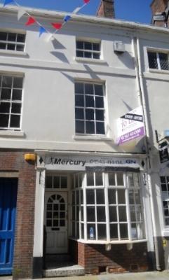 The Lichfield Mercury office in Breadmarket Street.