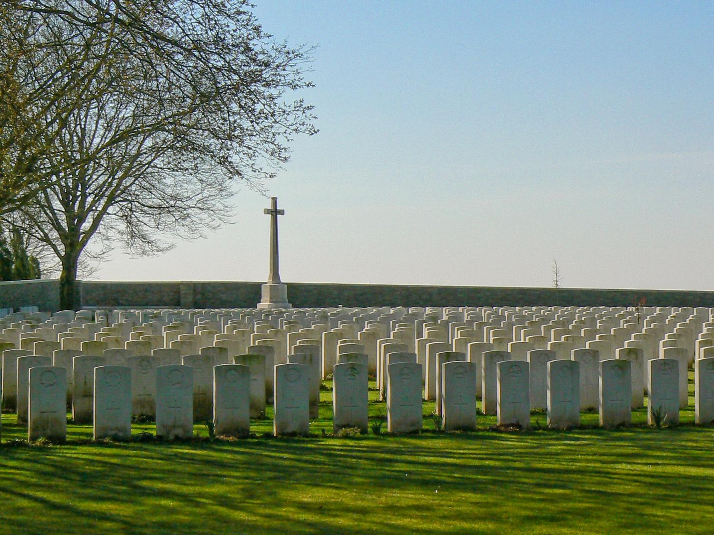 Sanctuary Wood Cemetery, Belgium