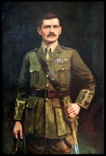 Portrait of Lieutenant Colonel William Henry (Harry) Carter