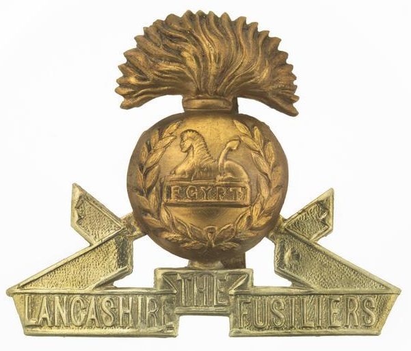 Lancashire Fusiliers WW1 Cap Badge