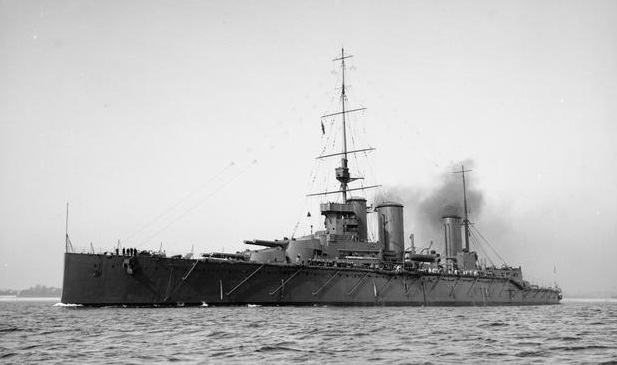 HMS Queen Mary {Photograph from the Imperial War Museum}