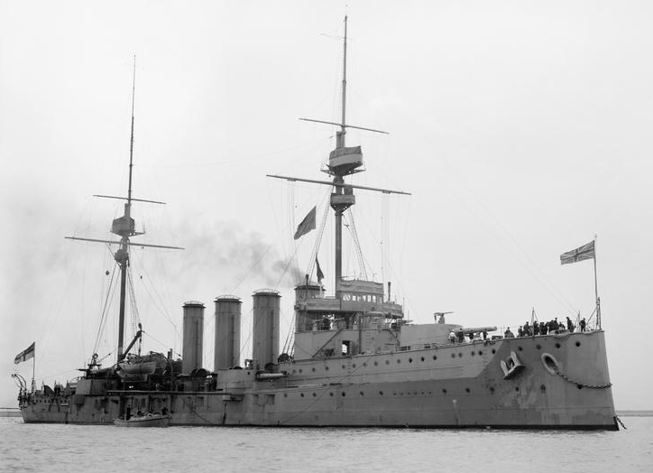 HMS Black Prince {Photograph from the Imperial War Museum}