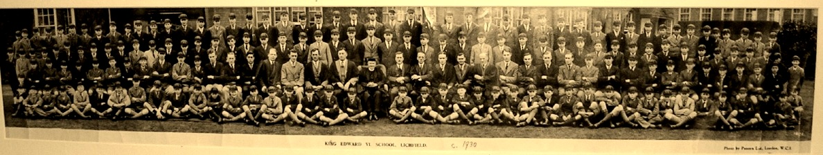 King Edward VI School Photograph taken in 1930, Frank Beresford may be on it.